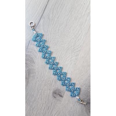 Armband lace blue