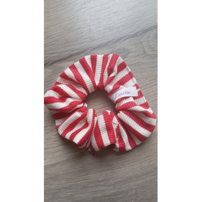 Scrunchie red stripe