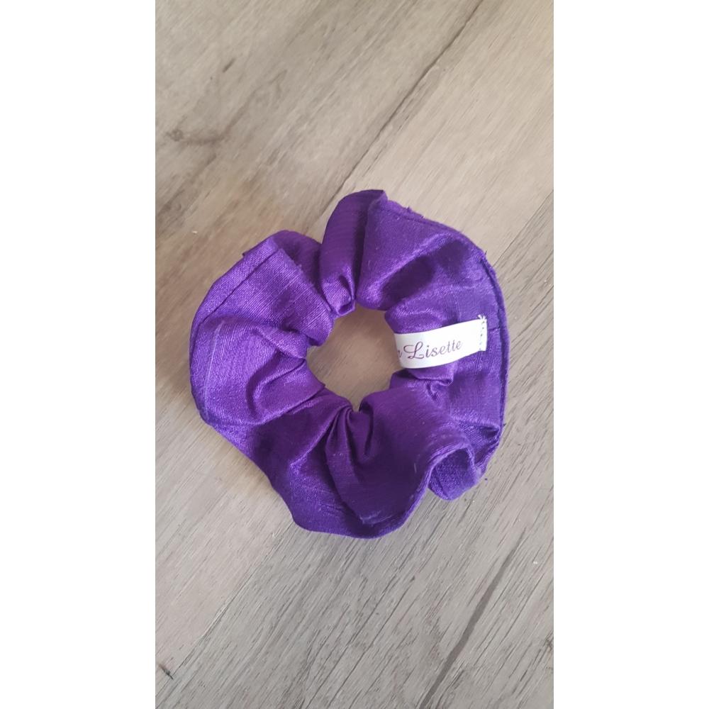 Scrunchie purple