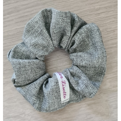 Scrunchie grijs